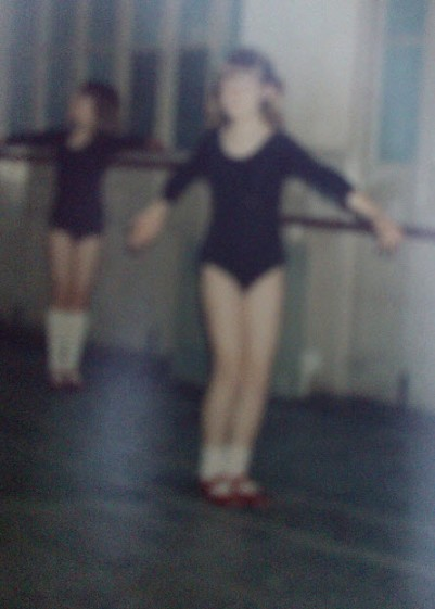 The black leotard, aged six