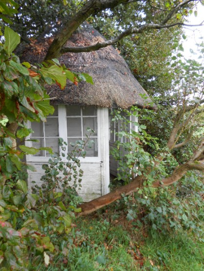 A summer house on the grounds