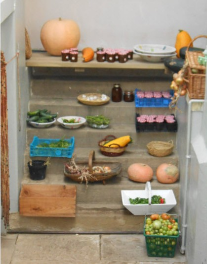 Fresh  veg for the kitchen