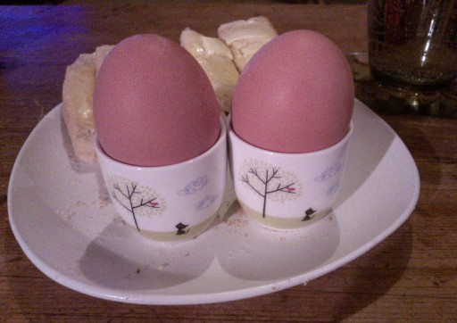 13th January 2014:  A non-slow cooker night.  Egg and soldiers!