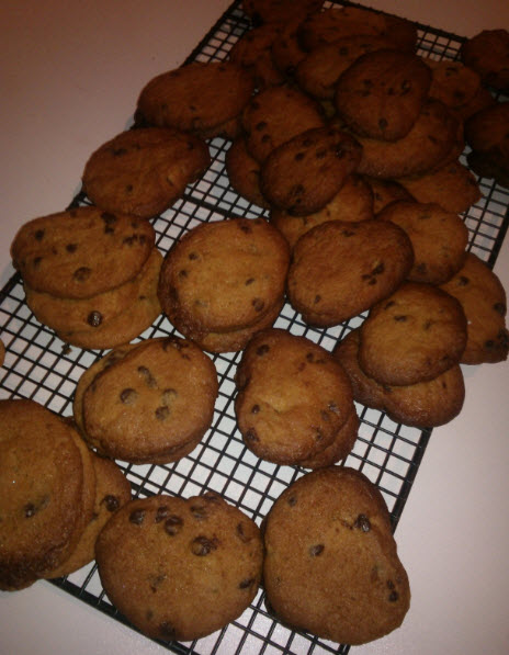 12th February 2014:  When you can't sleep, make cookies!