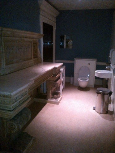 11th March 2014:  The MOST ostentatious toilet I have ever seen (also Harley Street)