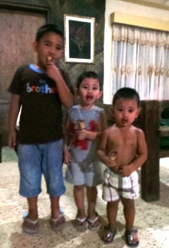 Biboy, Kiking and Tantan :)