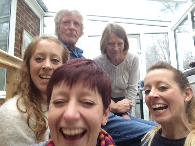 3) Having a family incapable of a selfie