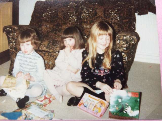 February 1982 (I think) That Meg and Meg book is the present I got to open :o)