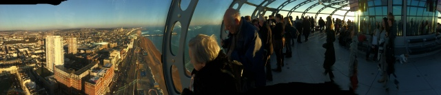 A different view, from the i360